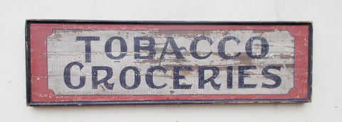 Tobacco and Groceries