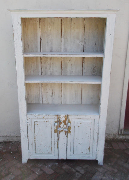 Two- door open cupboard
