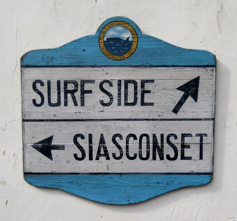 Surfside/ Siasconset Directional sign