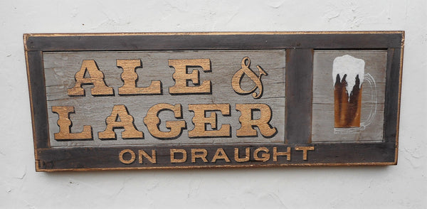 Ale & Lager on Draught