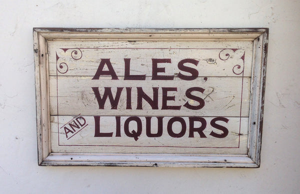 Ales , Wines and Liquors