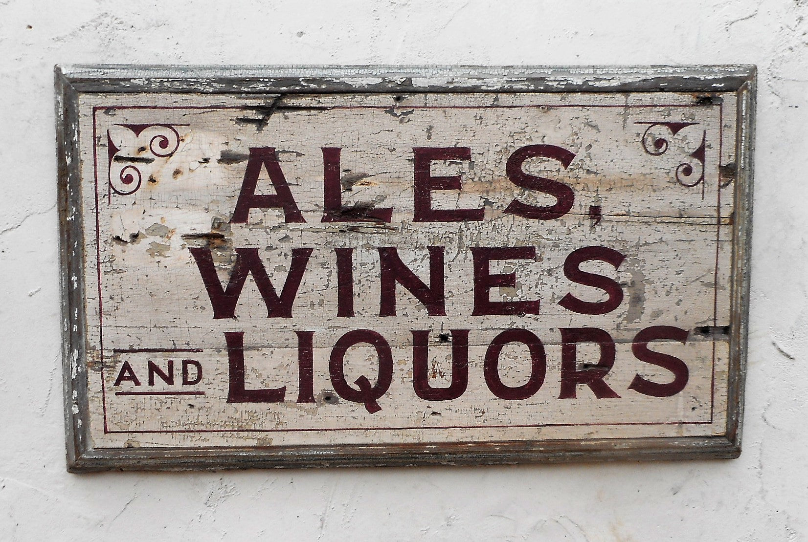 Ales, Wines and Liquors