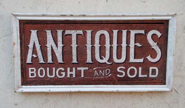 Antiques Bought and Sold