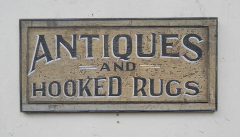 Antiques & Hooked Rugs
