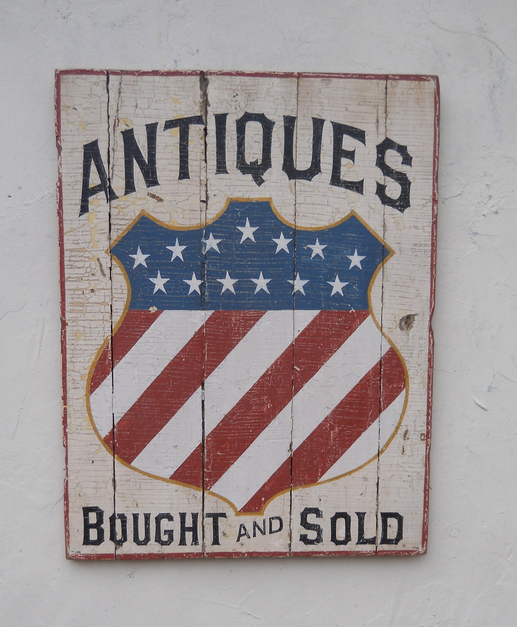 Antiques  Bought and Sold with Shield