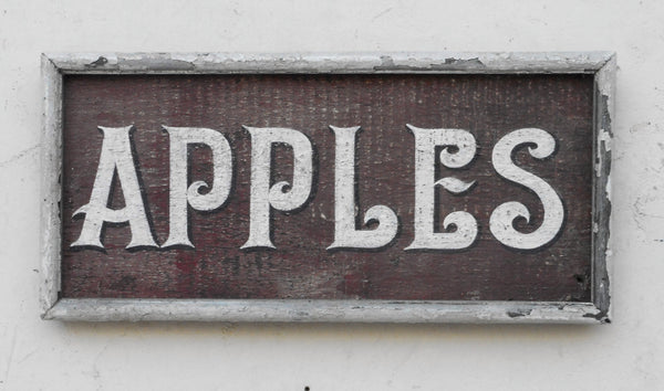 Apples sign