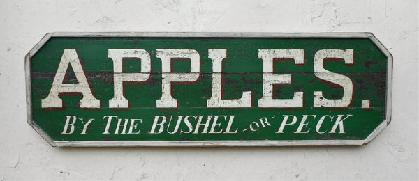 Apples by the Bushel or Peck