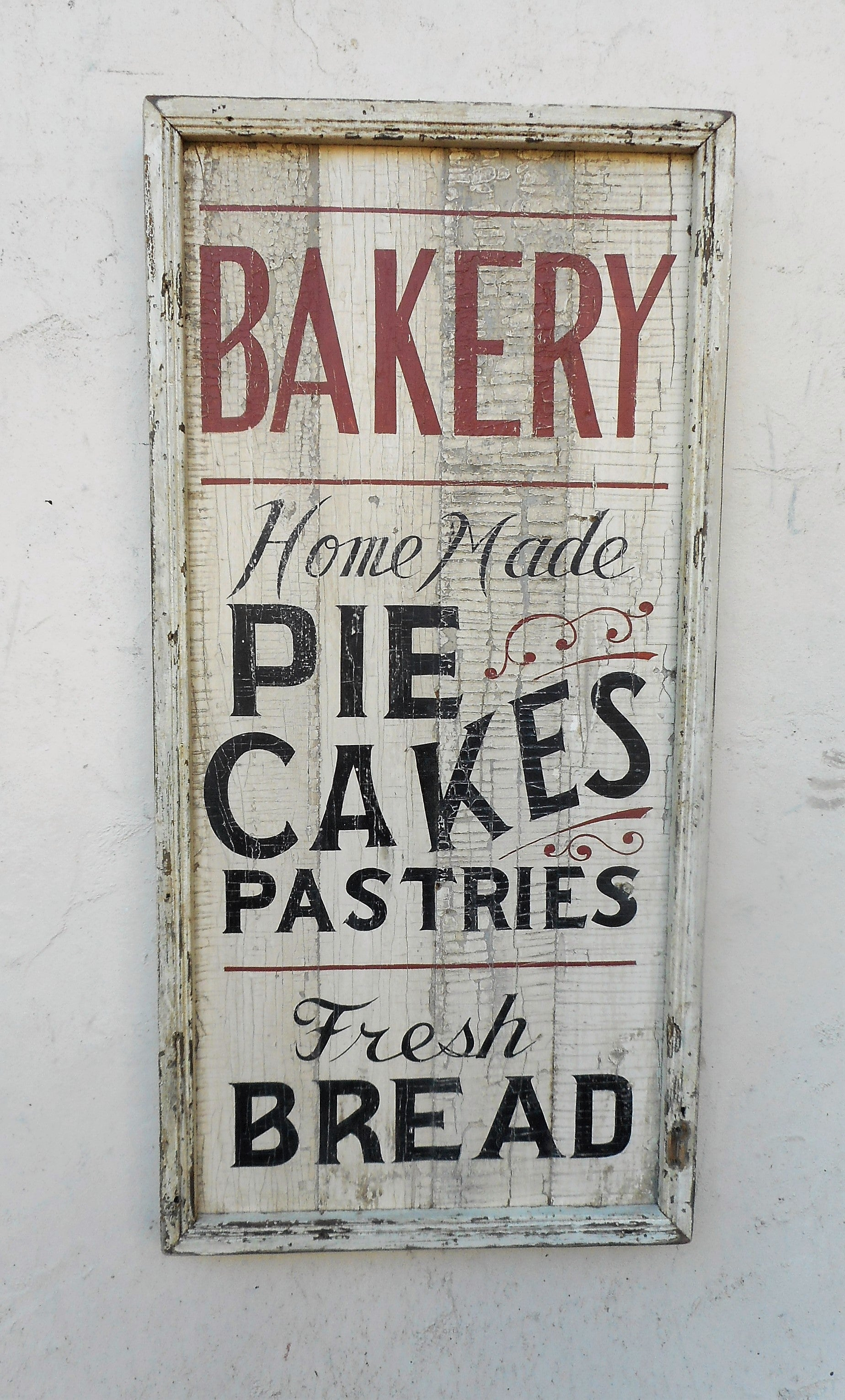 Vertical Bakery sign