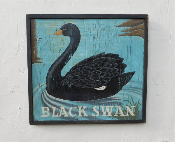 Black Swan English Pub sign