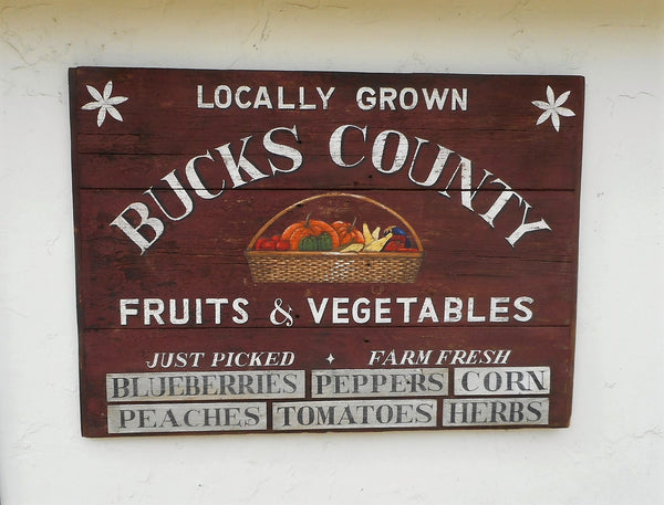 Bucks County Fruits and Vegetables