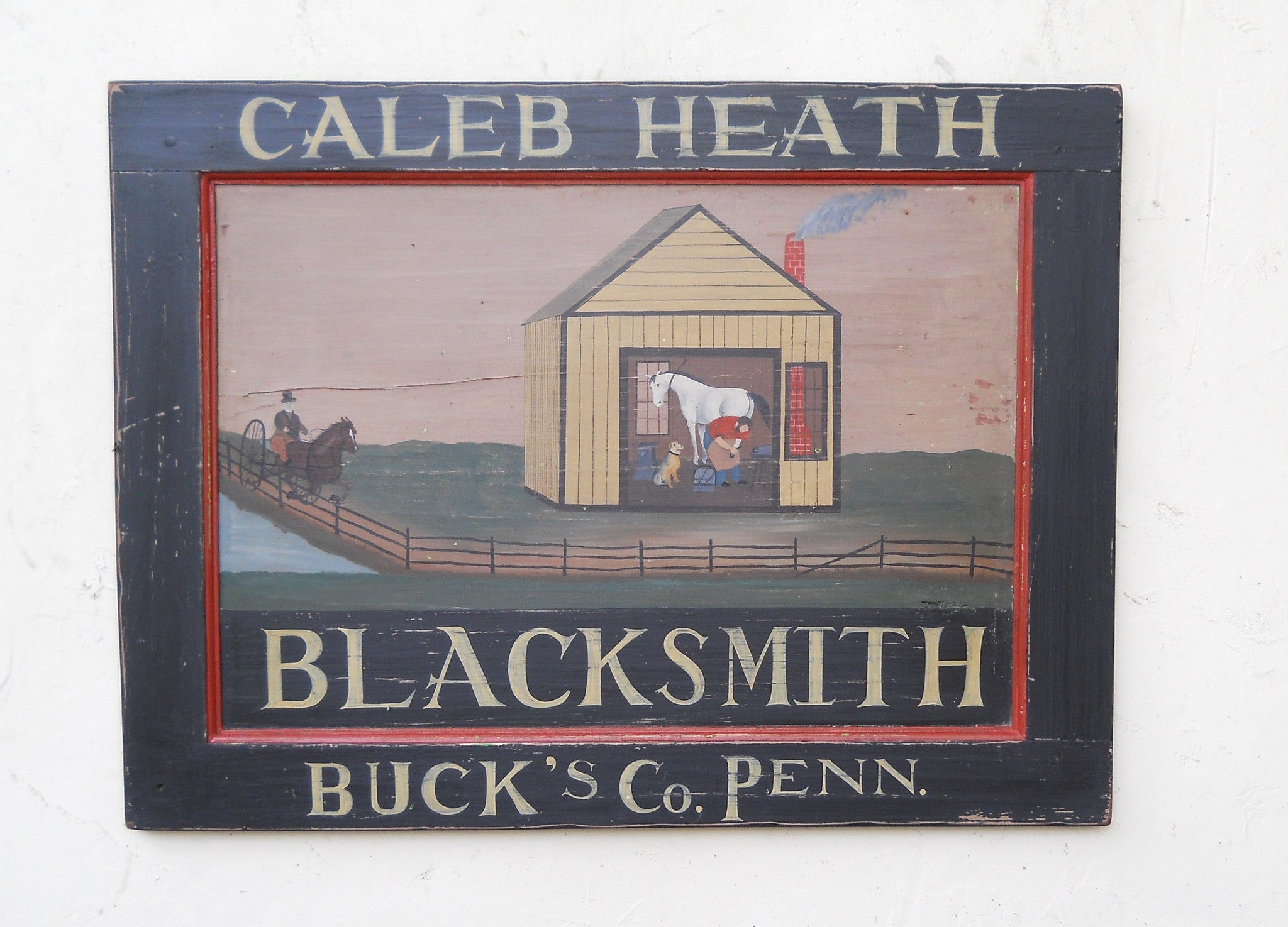 Caleb Heath Blacksmith