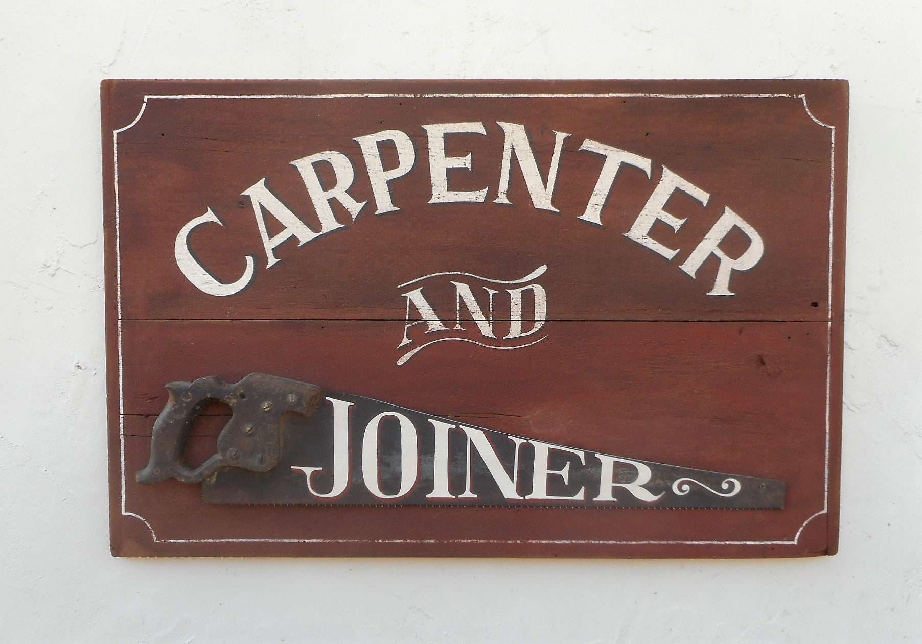 Carpenter and Joiner