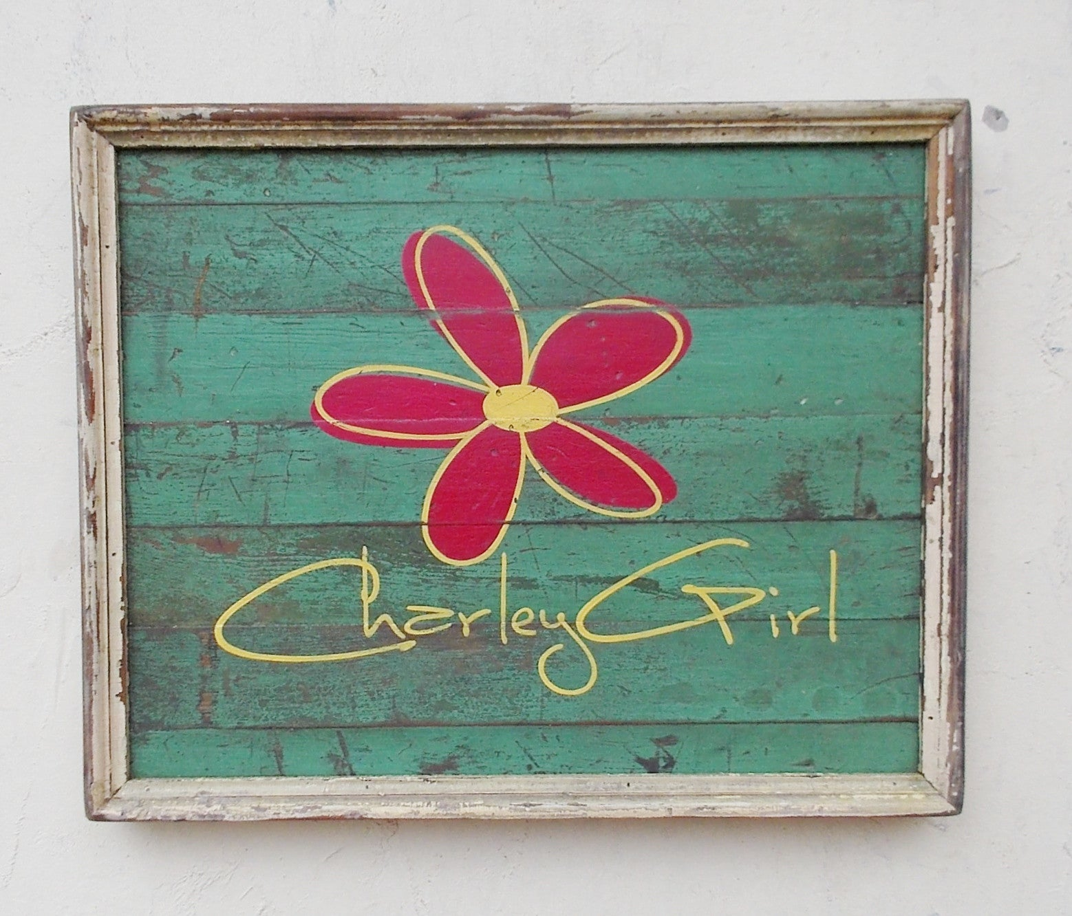 Charley Girl Retail Sign