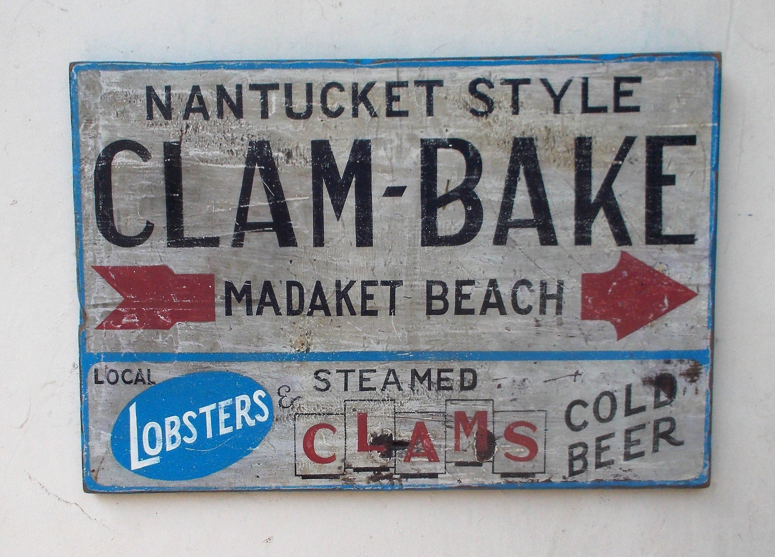 Nantucket Style Clam-Bake