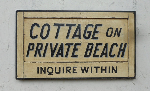 Cottage on Private Beach