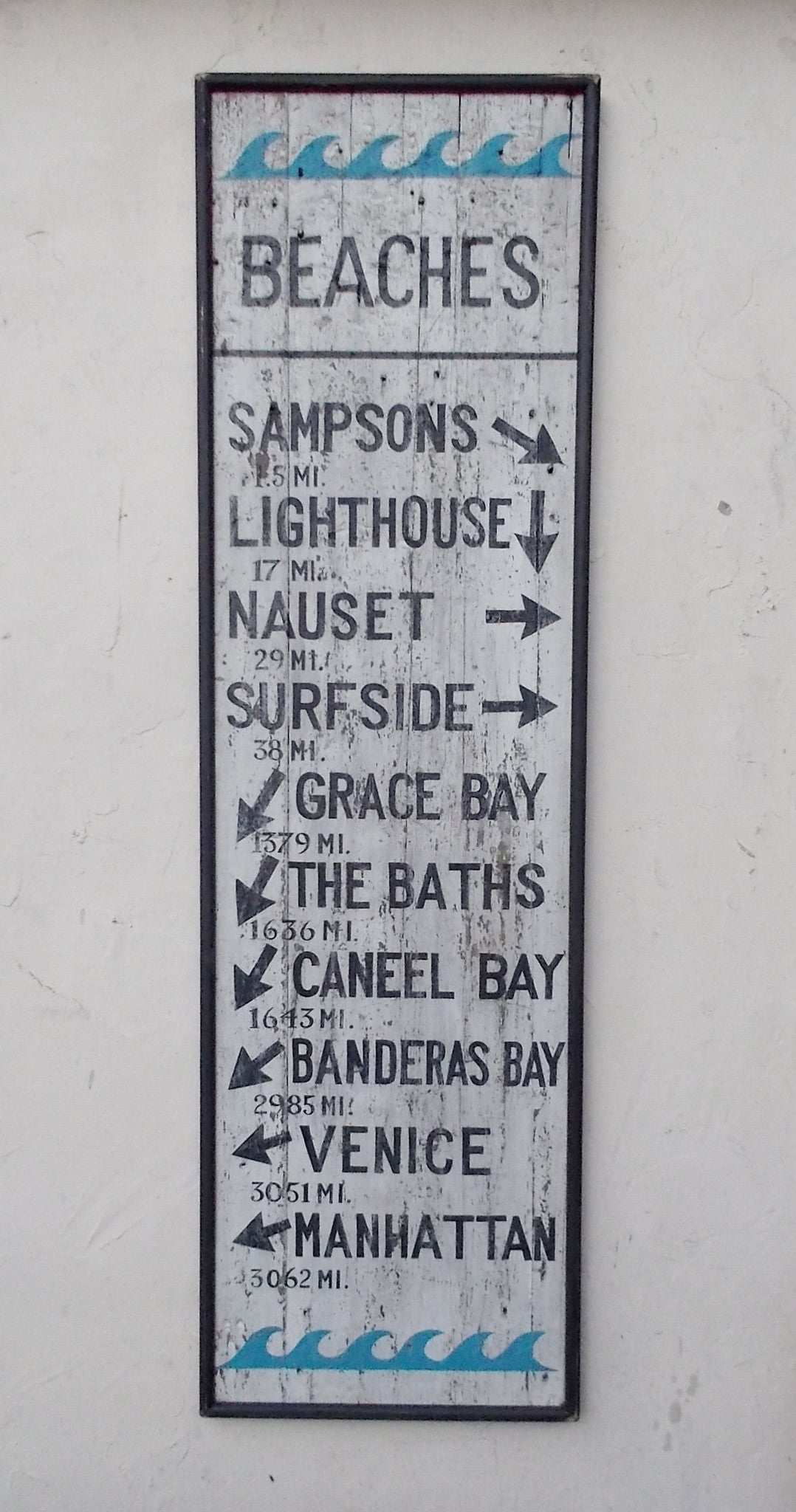 Custom Beaches Directional
