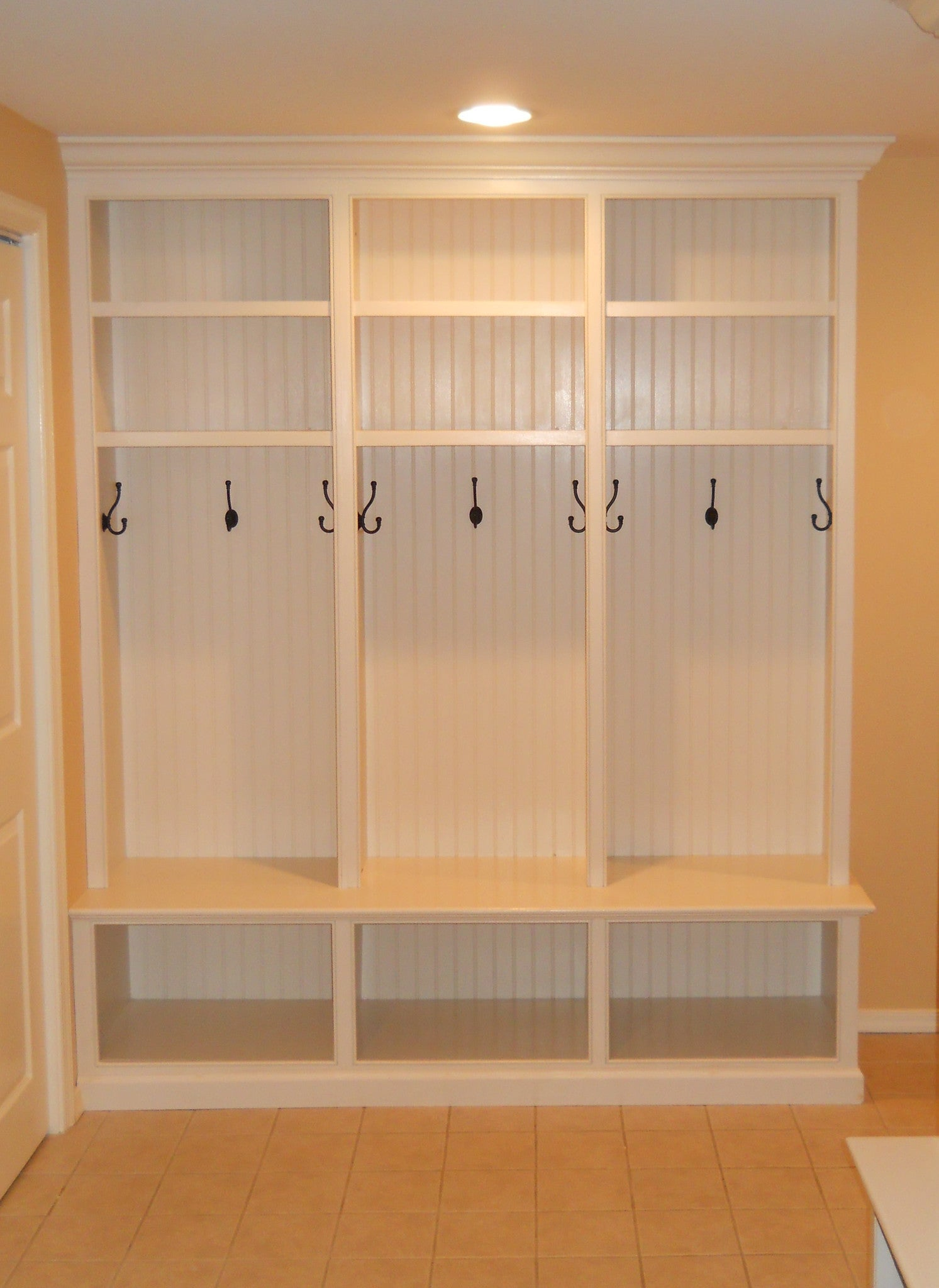 Custom Mudroom Lockers Three