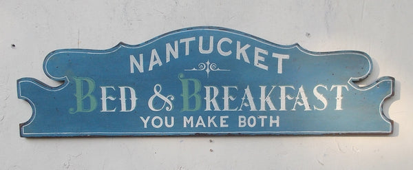 Nantucket Bed and Breakfast-You Make Both