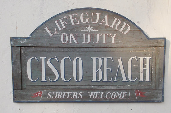 Cisco Beach-Lifeguard on Duty