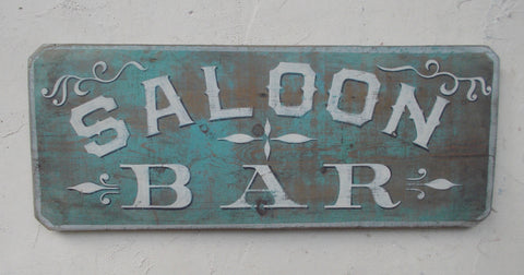 Saloon-Bar sign