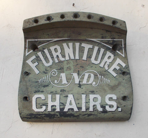 Furniture and Chairs sign