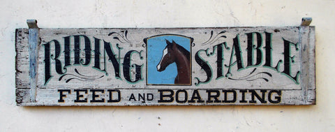 Riding Stable, Feed and Boarding