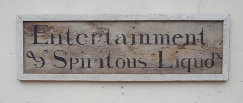 Entertainment & Spiritous Liquor