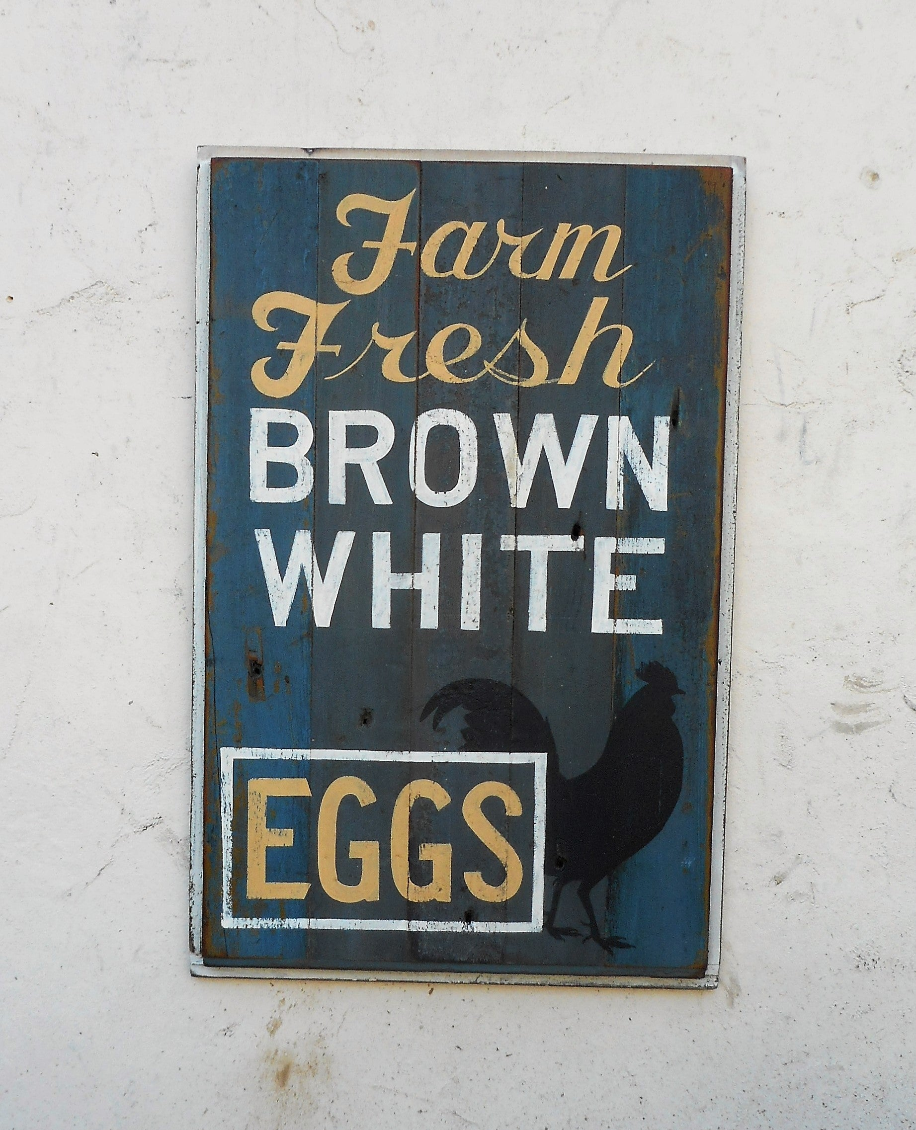 Farm Fresh Brown White Eggs