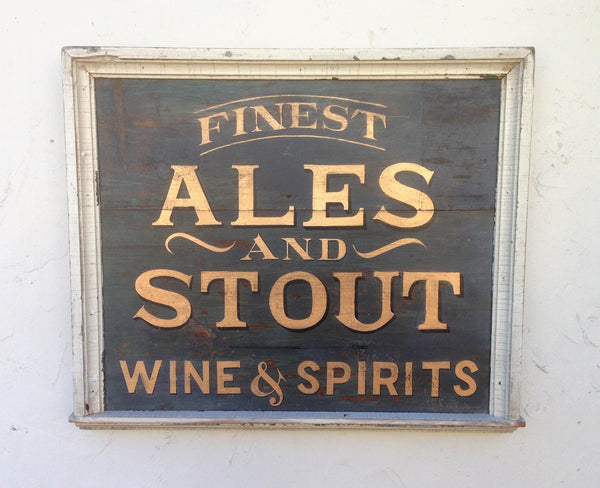 Finest Ales & Stout, Wine and Spirits