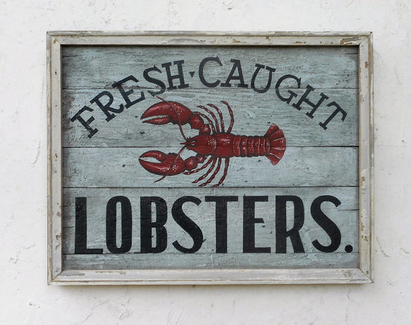 Fresh Caught Lobsters
