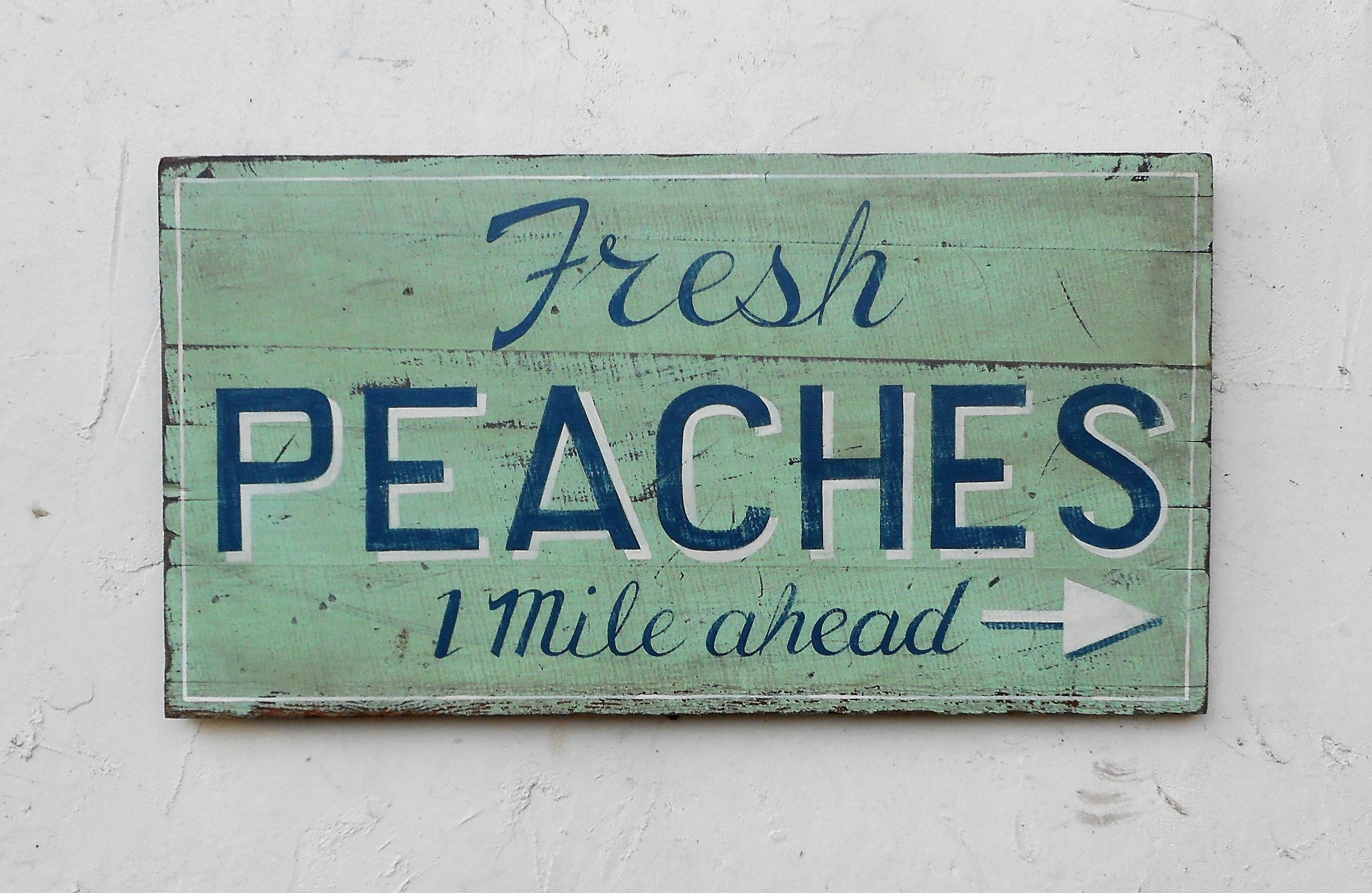 Fresh Peaches