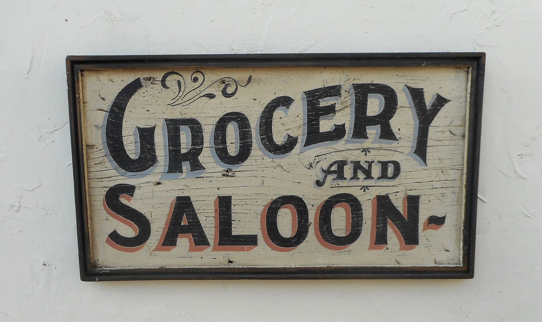 Grocery and Saloon