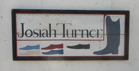 Josiah Turner Boot and Shoe Maker