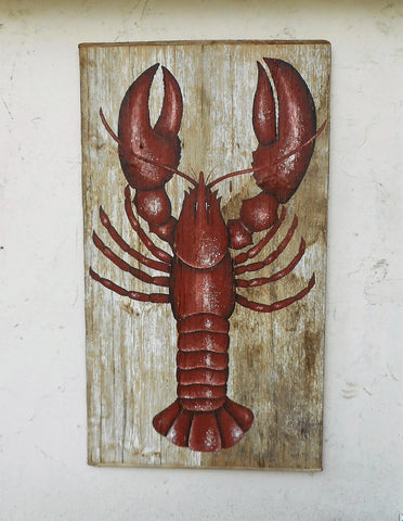 Lobster painting