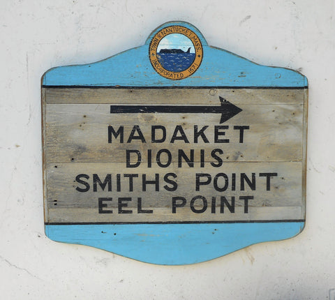 Madaket Directional sign