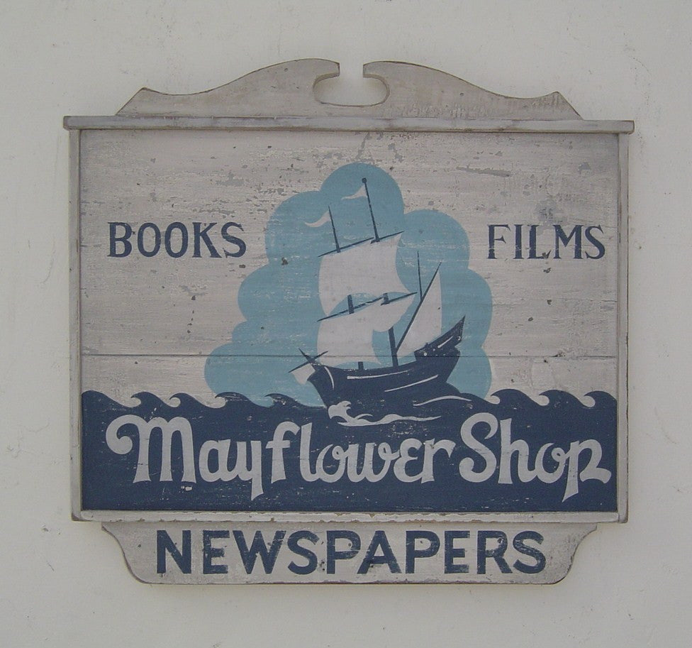 Mayflower Sign