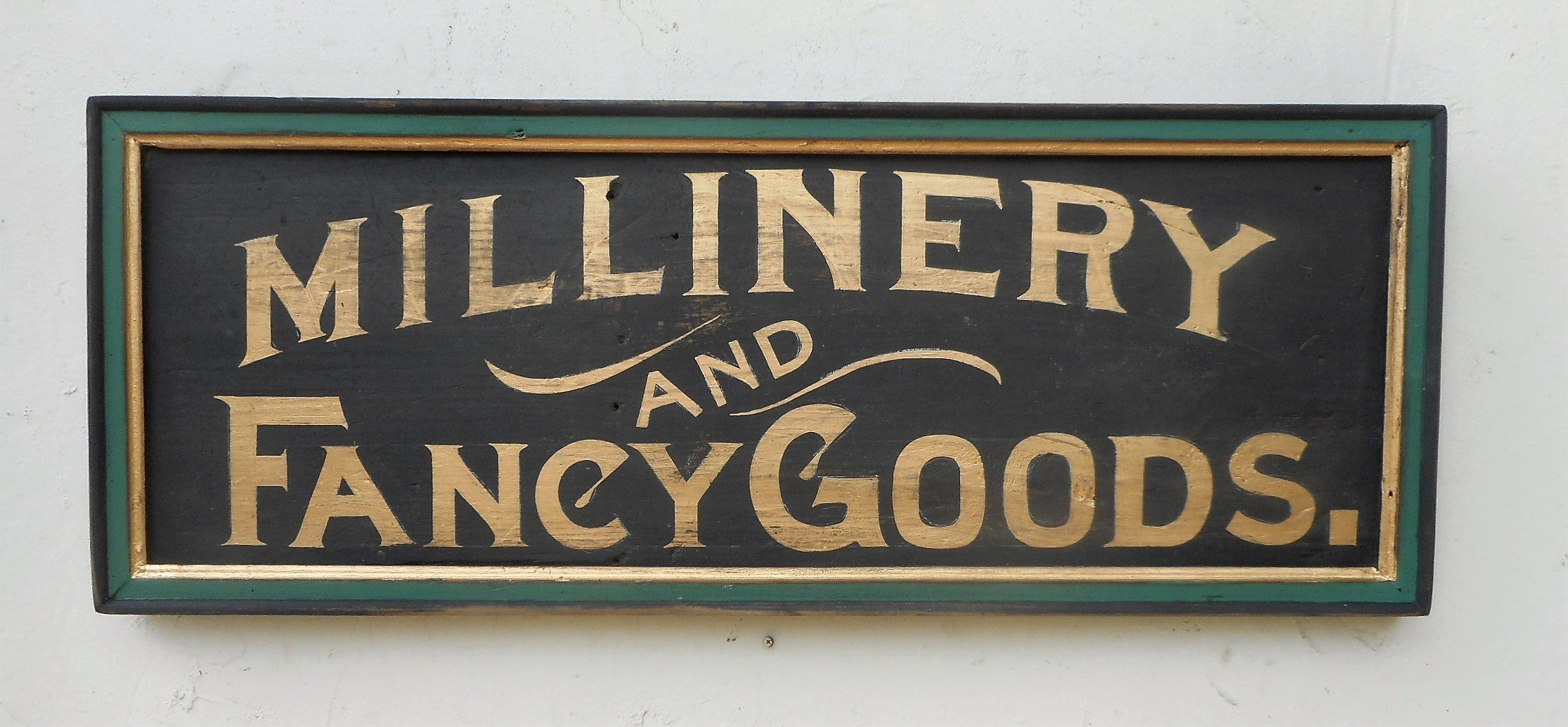 Millinery and Fancy Goods