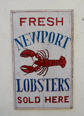 Fresh Newport Lobsters