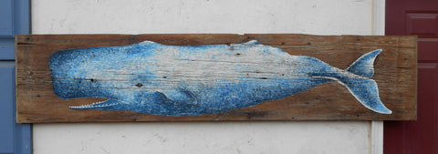 Painted Blue Whale