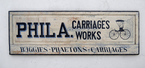 Phila. Carriage Works