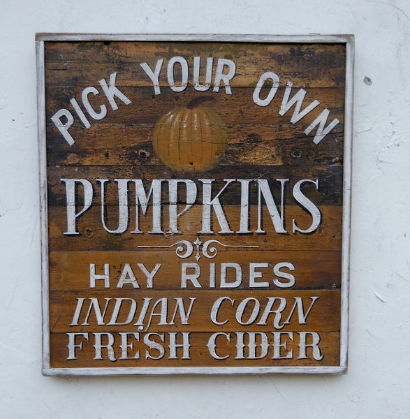 Pumpkins and Hayrides