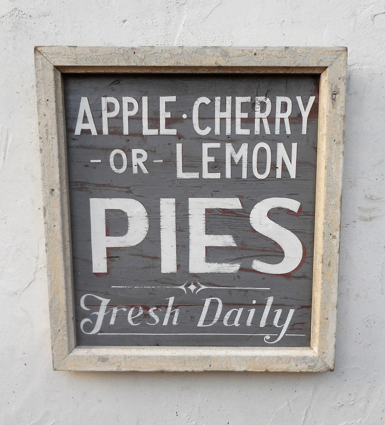 Pies Fresh Daily