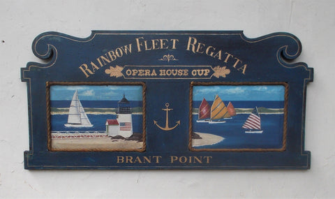 Rainbow Fleet Regatta-Opera Cup sign