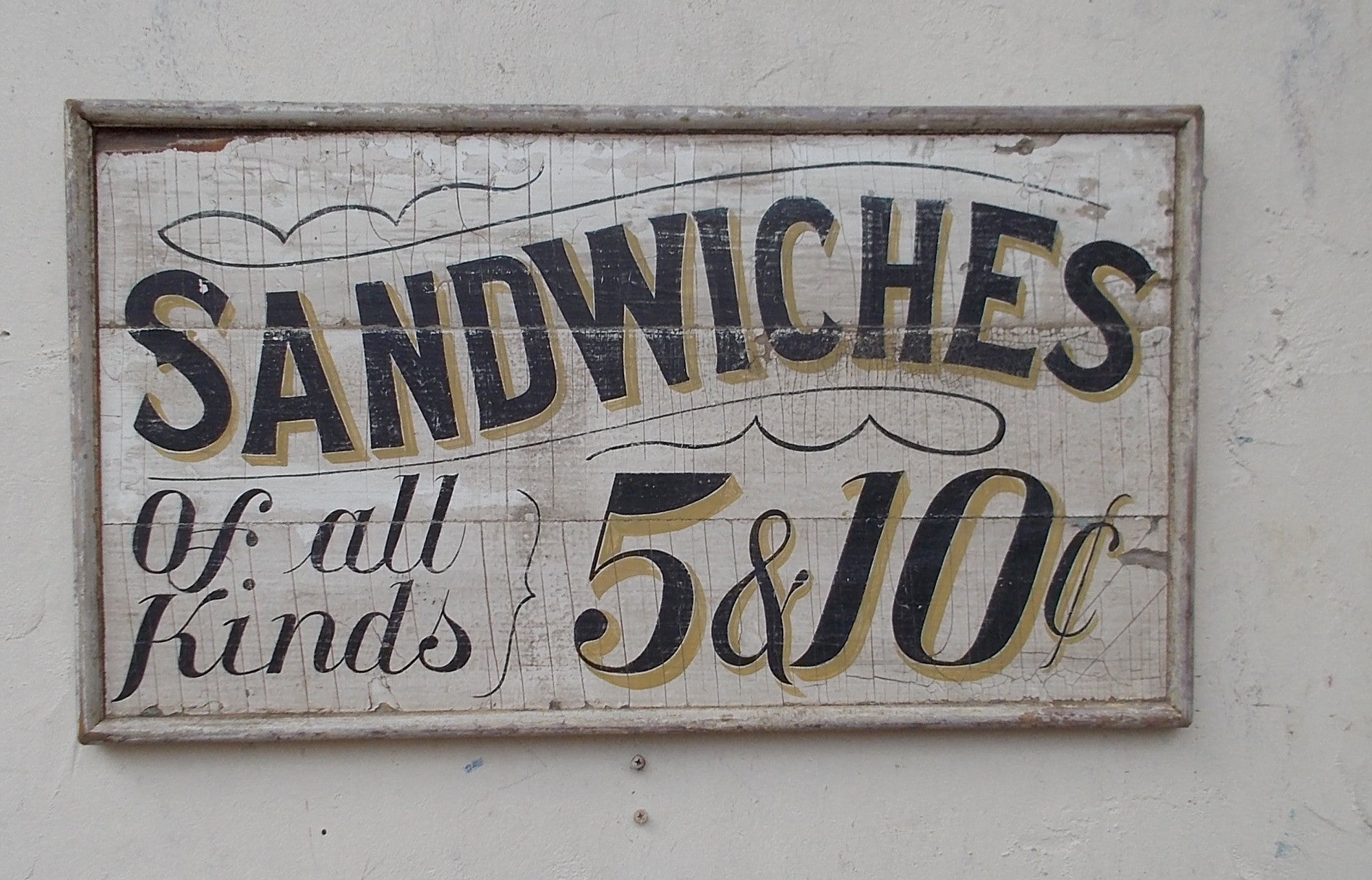Sandwiches of All Kinds