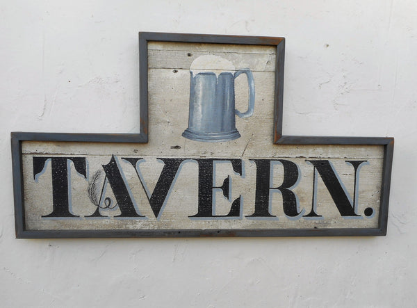 """Tavern"" sign with tankard"