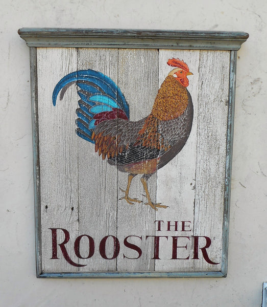 The Rooster pub sign