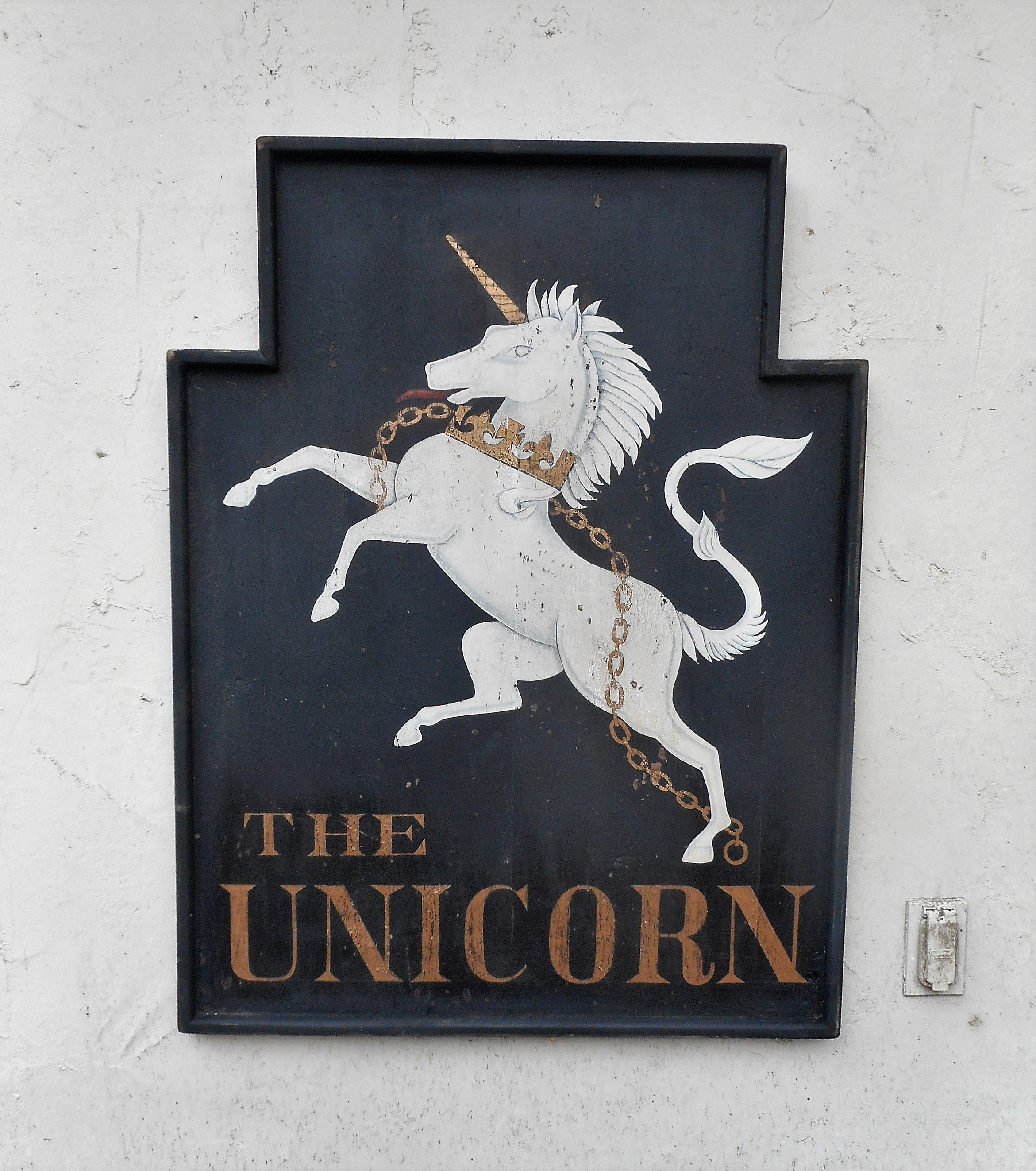 """The Unicorn"" Pub sign"