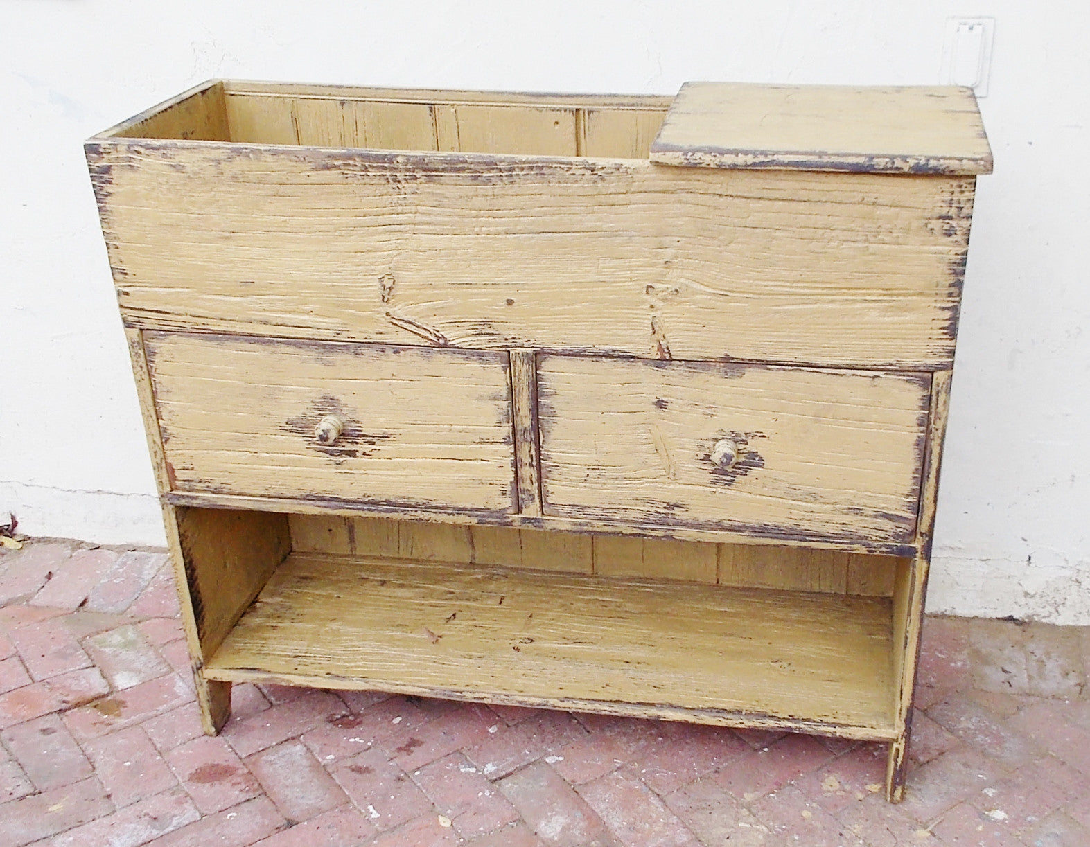 Two Drawer Dry Sink