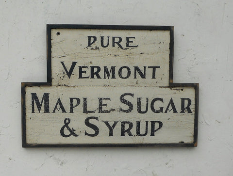 Pure Vermont Maple Sugar & Syrup