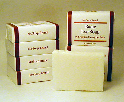 Strong lye soap for oily skin, poison ivy or washing clothes